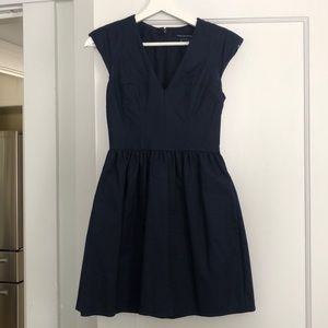 Navy French connection mini dress